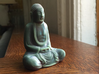 Textured Buddha: stormy sky. 3d printed Awesome customer photo.