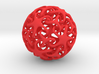 Knotted Star Ball 3d printed