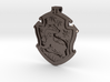 Hufflepuff House Crest - Pendant SMALL 3d printed