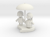 love umbrella 3d printed