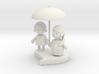 love umbrella 3d printed
