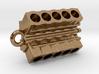 V10 Engine block pendant/keychain 3d printed