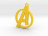 Avengers Pendant 3d printed