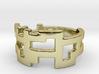 Ring Blocks - Size 7 3d printed