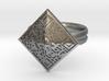 The BTC Ring 3d printed