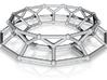 Molecular Architecture | Alkane Chain C12 | steel 3d printed