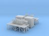 1/96 scale Terma SKWS decoy system w/ Platform, Am 3d printed