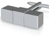 HoE - Cufflinks 3d printed