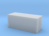 20ft Container Smooth, (N Scale, 1:160) 3d printed