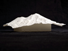 6'' Mt. Shasta, California, USA 3d printed View of 150mm model of Shasta from Dunsmuir, CA