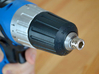 Coffee Grinder Bit For Drill Driver CDP-S 3d printed Set Image (Keyless Chuck)