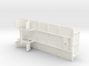 1:43 Single Axle Trailer 3d printed