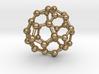 0097 Fullerene c38-16 c3v 3d printed