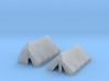 2 Zelte (N 1:160) 3d printed