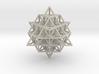 Sacred Geometry: IVM 64 Tetrahedron Grid 3d printed