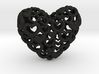 Heart by Heart 35mm Pendant. 3d printed