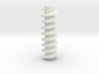 Worm Drive for hobby motors 3d printed