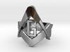 Freemason S&C - USA Size #11 3d printed