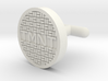 TMNT Sewer Cover Cuff Link 3d printed