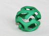 Wrapped Eyes #1 3d printed Green Strong & Flexible Polished