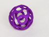 Wrapped Eyes #3 3d printed Purple Strong & Flexible Polished