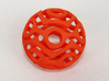 Wrapped Eyes #4 3d printed Orange Strong & Flexible Polished