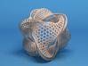 Borromean honeycomb moebius 3d printed
