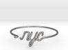 NYC Wire Bracelet (New York City) 3d printed