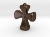 Crusader Cross Pendant/ Keyring Fob 3d printed
