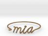 MIA Wire Bracelet (Miami) 3d printed