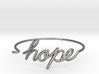 Hope Wire Bracelet 3d printed