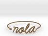 NOLA Wire Bracelet (New Orleans) 3d printed