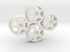 Losi Micro 1/24 Drift Wheel Set 3d printed