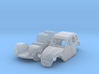 Citroën 2CV - parked (British N 1:148) 3d printed