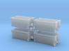 #1 Ballast Gate Miner Type Long [2 cars] 3d printed