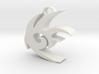 Shadow The Hedgehog Logo 3d printed
