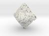 Octahedron math art 3d printed