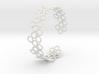Flower Bracelet 2 3d printed