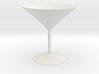 3d printed Martini Glass 3d printed