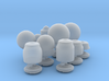 O scale-ish Street Lamps 3d printed