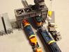 Gantry Crane Z Scale 3d printed Track SIde Gantry Crane Z scale