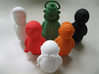 North Indian - Indian-vidual Indian style figurine 3d printed the entire range