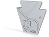 Carnegie Mellon University 2015 Keystone Coaster 3d printed