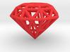 Rounded Diamond Lattice 3d printed