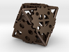 Gear Dice, 8-sided die made of gears 3d printed