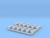 GER Loco Brake Blocks 3d printed