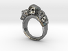 Pile of Skulls Ring Mens Size 20 3d printed