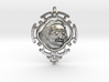 Meher Baba Amulet 3d printed