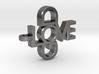 Love God Pendant 3d printed