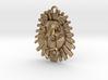Lion Pendant 3d printed